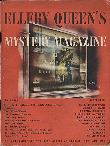 Ellery Queen's Mystery Magazine September 1945