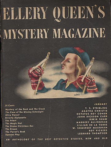 Ellery Queen's Mystery Magazine January 1946