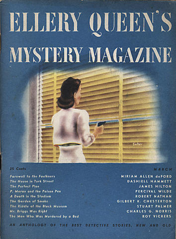 Ellery Queen's Mystery Magazine March 1946