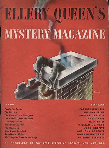 Ellery Queen's Mystery Magazine February 1946