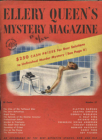 Ellery Queen's Mystery Magazine July 1946