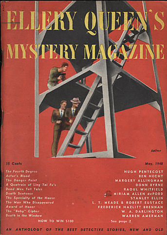 Ellery Queen's Mystery Magazine May 1948