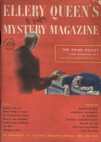 Ellery Queen's Mystery Magazine January 1948