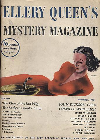 Ellery Queen's Mystery Magazine December 1948