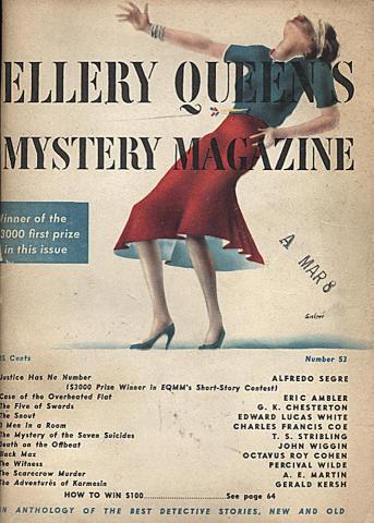 Ellery Queen's Mystery Magazine April 1948
