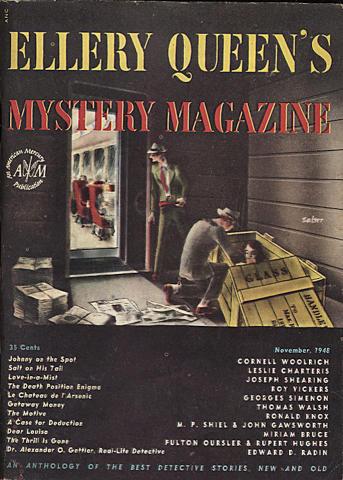 Ellery Queen's Mystery Magazine November 1948