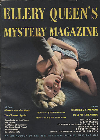 Ellery Queen's Mystery Magazine April 1949