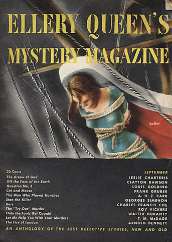 Ellery Queen's Mystery Magazine September 1949