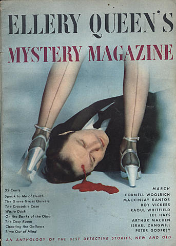 Ellery Queen's Mystery Magazine March 1949