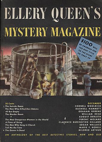 Ellery Queen's Mystery Magazine December 1949