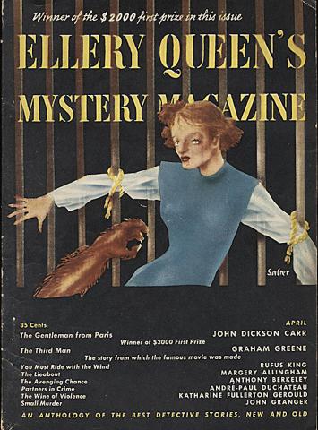 Ellery Queen's Mystery Magazine April 1950