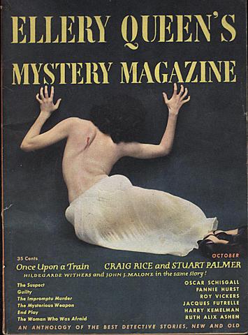 Ellery Queen's Mystery Magazine October 1950