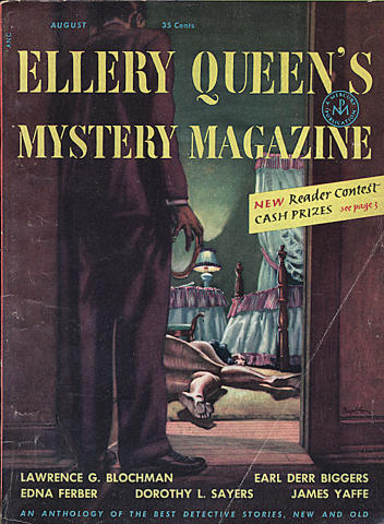 Ellery Queen's Mystery Magazine August 1953