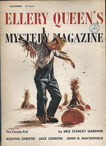 Ellery Queen's Mystery Magazine November 1954