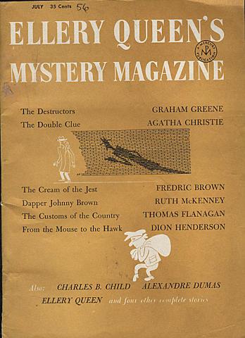 Ellery Queen's Mystery Magazine July 1956