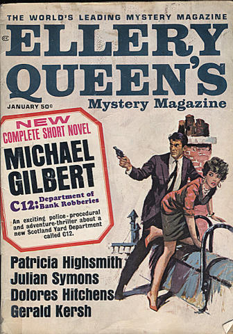 Ellery Queen's Mystery Magazine January 1966