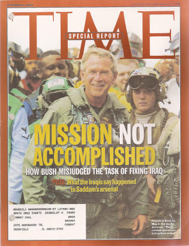 Time Magazine October 6, 2003