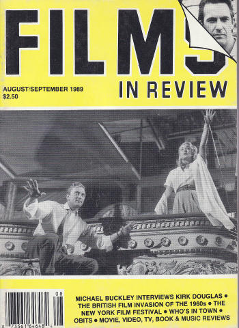 Films In Review Magazine August 1989