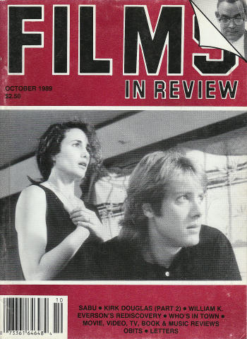 Films In Review Magazine October 1989