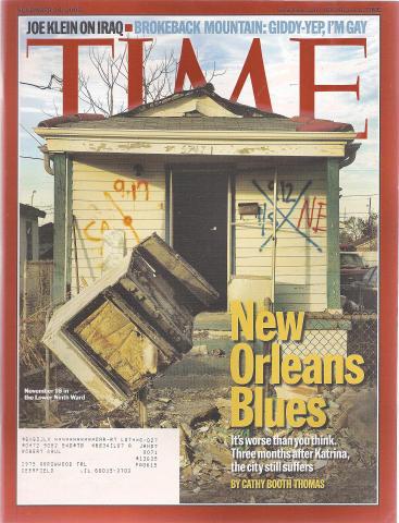 Time Magazine November 28, 2005