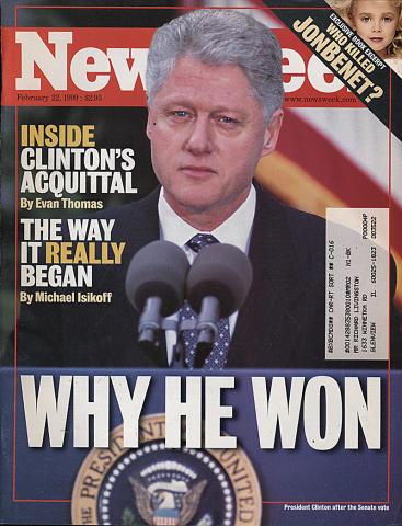 Newsweek Magazine February 22, 1999