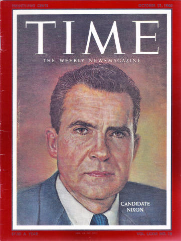 Time Magazine October 31, 1960