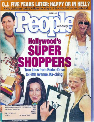 People Magazine June 21, 1999