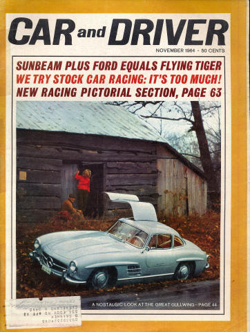 Car and Driver Magazine November 1964
