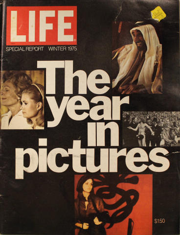 LIFE Magazine Winter 1975 Special Report - The Year in Pictures 1975