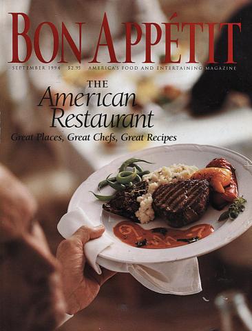 Bon Appetit Magazine September 1994