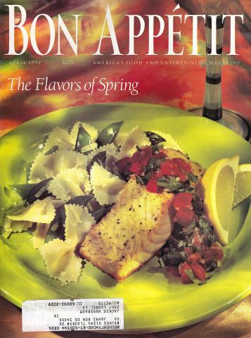 Bon Appetit Magazine April 1992