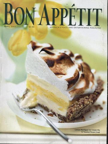 Bon Appetit Magazine April 2007
