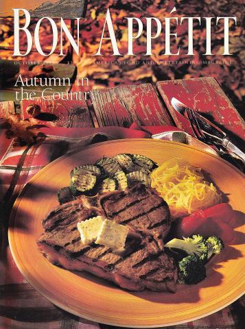 Bon Appetit Magazine October 1993
