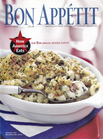 Bon Appetit Magazine March 2002