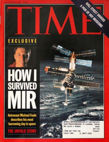 Time Magazine November 3, 1997