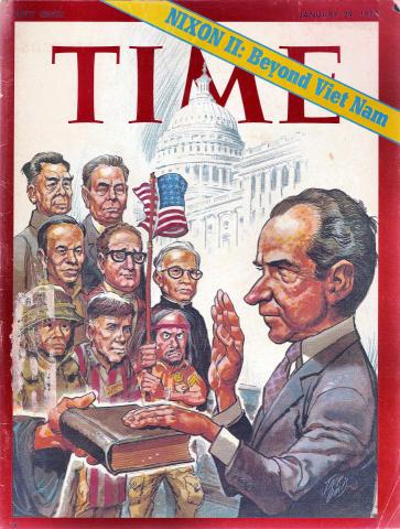 Time Magazine January 29, 1973