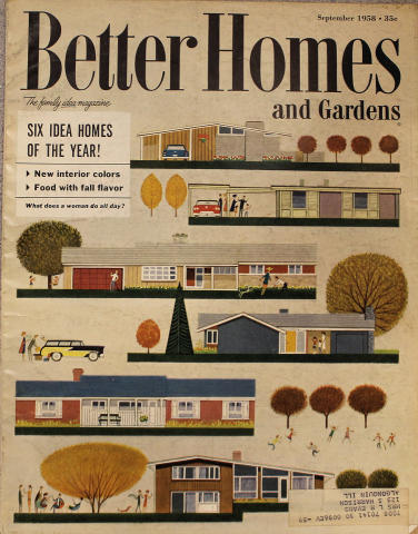 Better Homes And Gardens Magazine September 1958