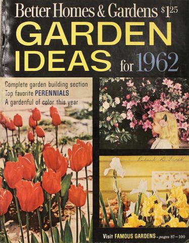 Garden Ideas For 1962