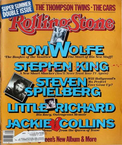 Rolling Stone Magazine July 19, 1984