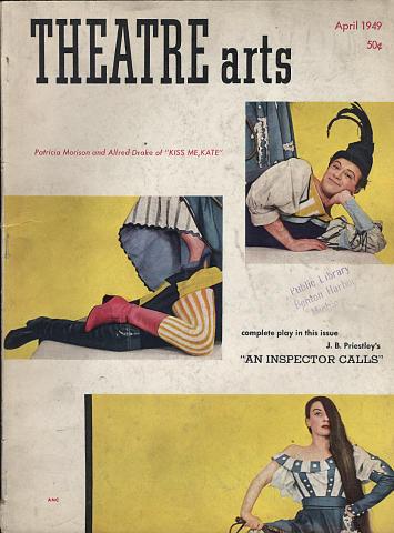 Theatre Arts Magazine April 1949