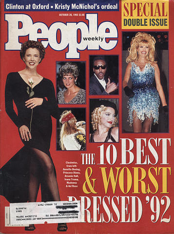 People Magazine October 26, 1992