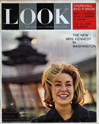 LOOK Magazine February 26, 1963