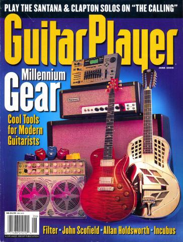 Guitar Player Magazine June 2000