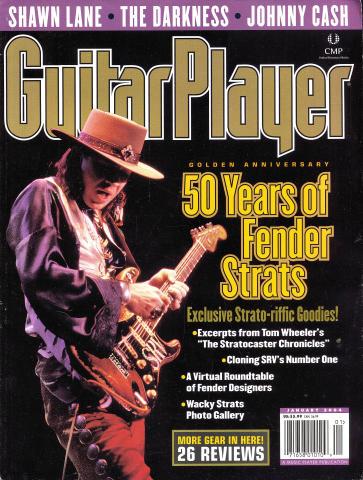 Guitar Player Magazine January 2004