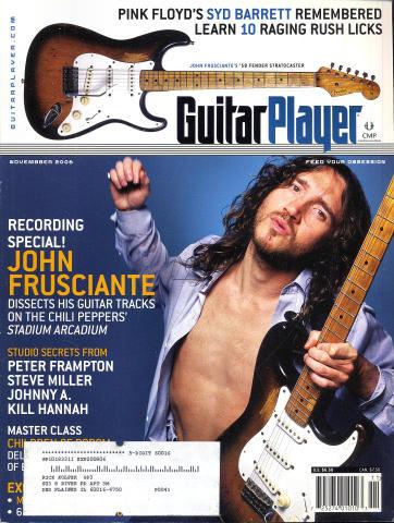 Guitar Player Magazine November 2006