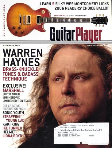Guitar Player Magazine December 2006