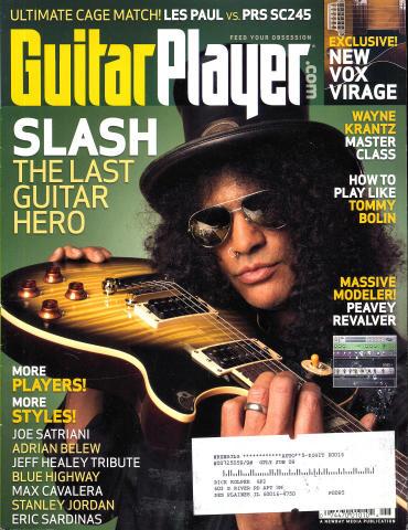 Guitar Player Magazine June 2008