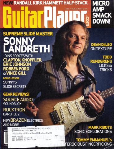 Guitar Player Magazine October 2008