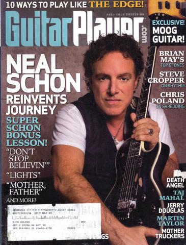 Guitar Player Magazine November 2008