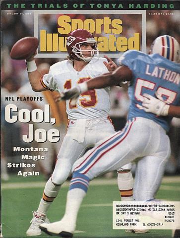Sports Illustrated January 24, 1994